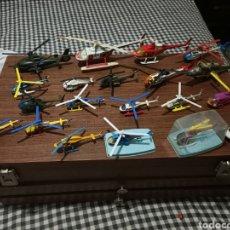 Modelos a escala: LOTE DE HELICOPTEROS ANTIGUOS. Lote 215850203