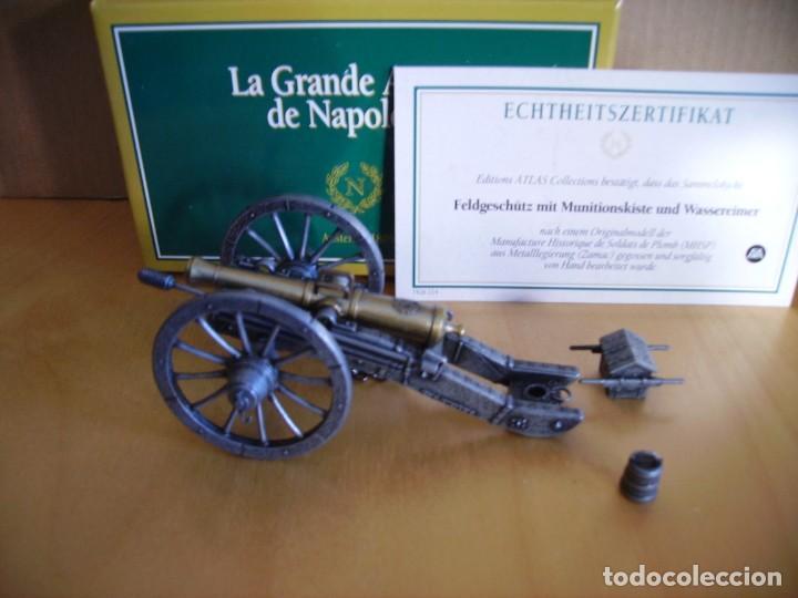 ATLAS EDITIONS ---- LA GRANDE ARMEE DE NAPOLEON CAÑON - 1/24 (Juguetes - Modelos a escala)