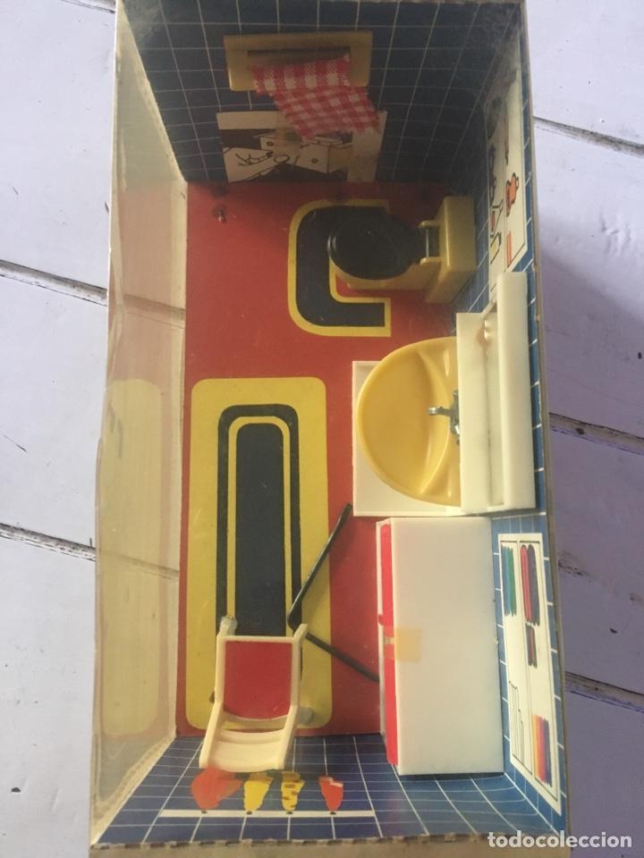Modelos a escala: Cuarto de baño Modella, el Hogarín Alemán Modella - Foto 4 - 217934231