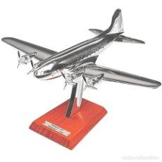 Modelli in scala: BOEING B-307 STRATOLINER 1938 1:200 AVION PLANE SILVER CLASSIC ATLAS. Lote 219914610