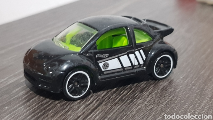HOTWEELS VW NEW BEETLE CUP (Juguetes - Modelos a escala)