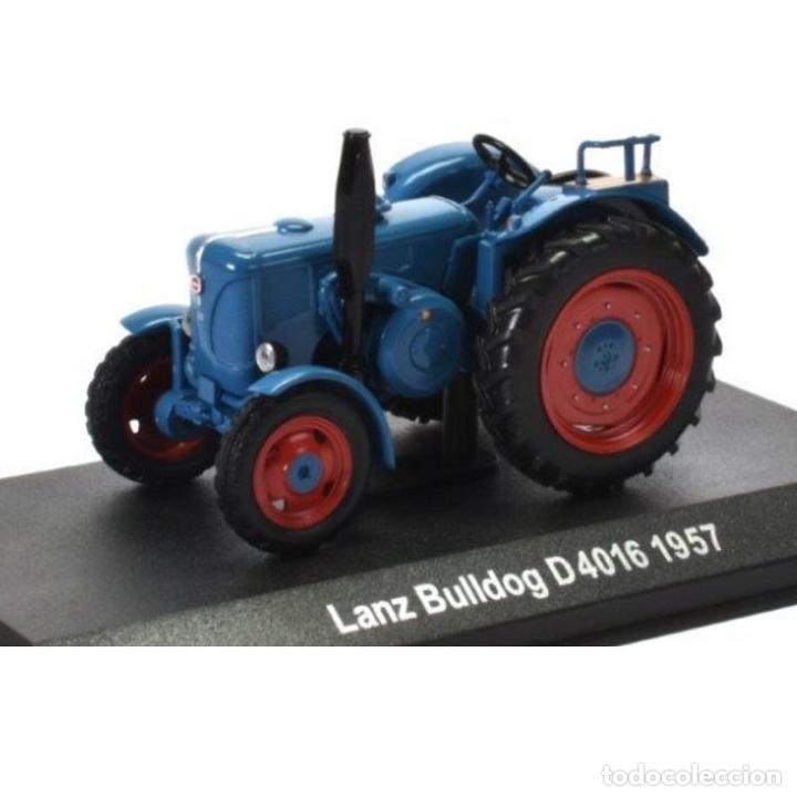 LANZ BULLDOG D4016 1957 1:43 TRACTOR AGRICOLA UH HACHETTE DIECAST (Juguetes - Modelos a escala)