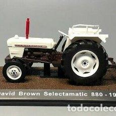 Modelos a escala: TRACTOR CLÁSICO DAVID BROWN SELECTAMATIC 880 / ATLAS EDITION (ESCALA 1:32) AGRÍCOLA,BLANCO,7517029. Lote 222745101