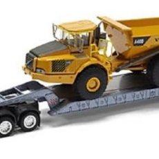 Modelos a escala: CAMIÓN VOLVO GLOBETROTTER FH12 XL SEMIRREMOLQUE - ESCALA 1:87 - MOTORART, A40D, DUMPER,GÓNDOLA,. Lote 225260430