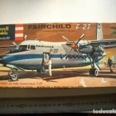 Modelos a escala: FAIR CHILD F 27 REVELL LODELA ESCALA 1/100. Lote 225960545