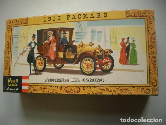 1912 PACKARD REVELL LODELA (Juguetes - Modelos a escala)