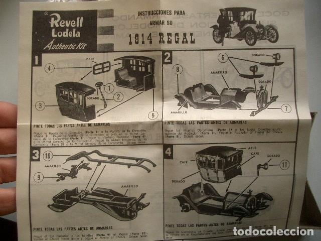 Modelos a escala: 1914 REGAL REVELL LODELA - Foto 3 - 225967565