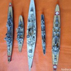 Modelli in scala: BUQUES DE GUERRA LOTE BARCOS DE METAL Y PVC?. Lote 226293185