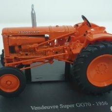 Modelos a escala: TRACTOR VENDREUVE SUPER GG70 DE 1956.. Lote 226760665