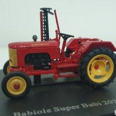Modelos a escala: TRACTOR BABIOLE SÚPER BABI 203 DE 1954.. Lote 187091133