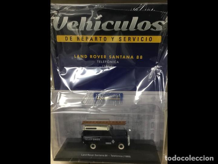 """Modelos a escala: Land Rover Santana """"Teléfonos"""", NUEVO, de la antigua CTNE, actual Telefónica. - Foto 2 - 228150415"""
