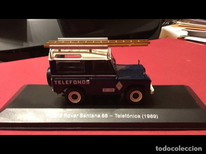 """Modelos a escala: Land Rover Santana """"Teléfonos"""", NUEVO, de la antigua CTNE, actual Telefónica. - Foto 3 - 228150415"""