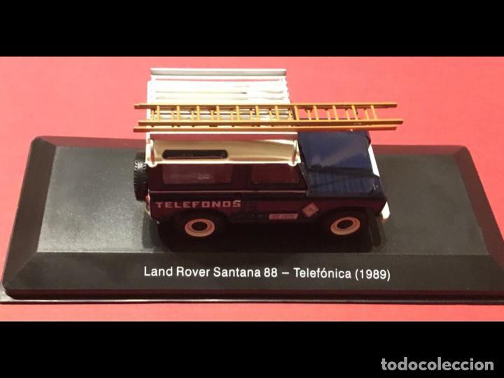 """Modelos a escala: Land Rover Santana """"Teléfonos"""", NUEVO, de la antigua CTNE, actual Telefónica. - Foto 4 - 228150415"""
