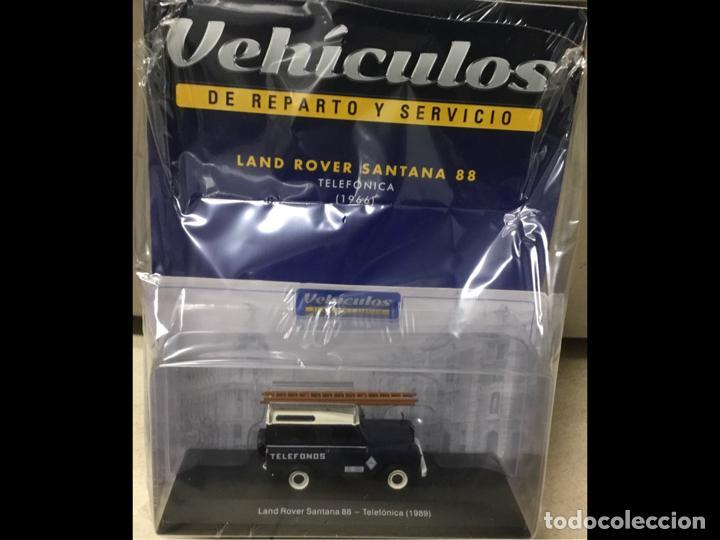 """Modelos a escala: Land Rover Santana """"Teléfonos"""", NUEVO, de la antigua CTNE, actual Telefónica. - Foto 5 - 228150415"""