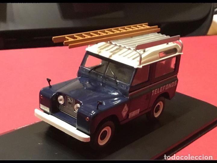 """Modelos a escala: Land Rover Santana """"Teléfonos"""", NUEVO, de la antigua CTNE, actual Telefónica. - Foto 6 - 228150415"""
