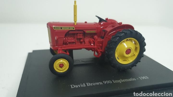 TRACTOR DAVID BROWN 990 IMPLEMATIC DE 1963. (Juguetes - Modelos a escala)