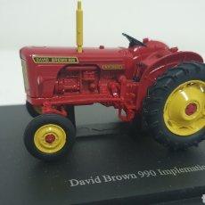 Modelos a escala: TRACTOR DAVID BROWN 990 IMPLEMATIC DE 1963.. Lote 187422328