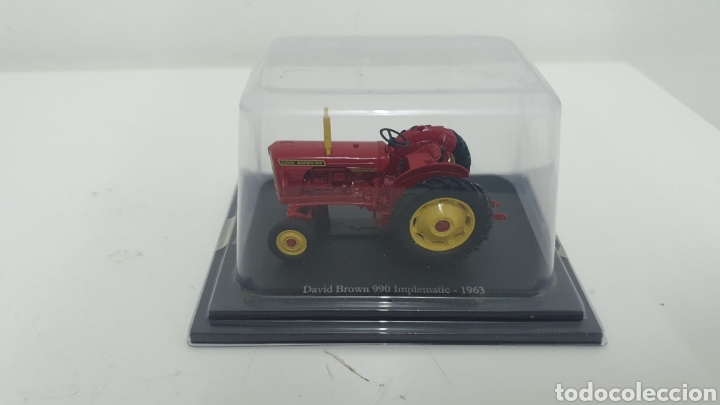 Modelos a escala: Tractor David Brown 990 Implematic de 1963. - Foto 5 - 187422328