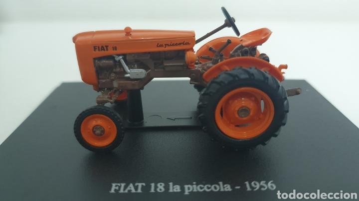 TRACTOR FIAT 18 LA PICCOLA DE 1956. (Juguetes - Modelos a escala)