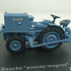 Modelos a escala: TRACTOR BAUCHE POUSSE-WAGONS DE 1957.. Lote 187191567