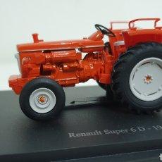 Modelos a escala: TRACTOR RENAULT SÚPER 6D DE 1966.. Lote 187316208