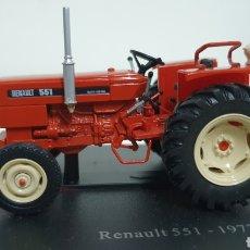 Modelos a escala: TRACTOR RENAULT 551 DE 1973.. Lote 187385841
