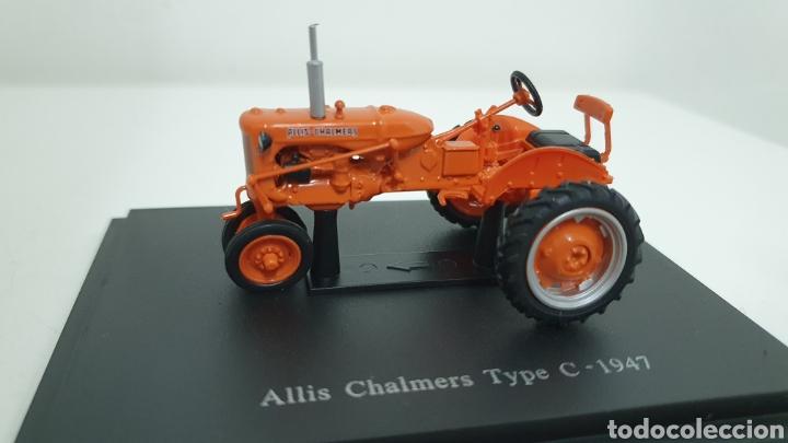 TRACTOR ALLIS CHALMERS TYPE C DE 1947. (Juguetes - Modelos a escala)