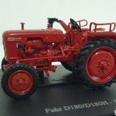 Modelos a escala: TRACTOR FAHR D180/D180H DE 1954.. Lote 187317442