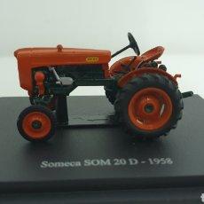 Modelos a escala: TRACTOR SOMECA SOM 20 D DE 1958.. Lote 187115161