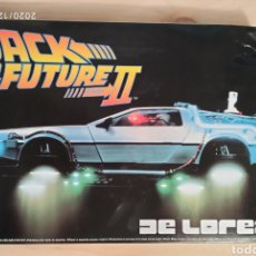 Modèles réduits: MAQUETA DELOREAN BACK TO THE FUTURE 1/24 AOSHIMA. Lote 231689985