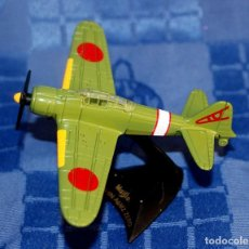 Modelos a escala: AVION DE CAZA JAPONES MITSUBISHI A6M ZERO METAL. Lote 233168975