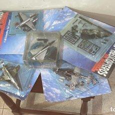 Modelos a escala: LOTE 5 AVIONES DE CAZA MODELOS A ESCALA. Lote 234572840