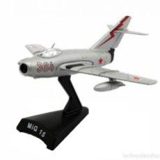 Modelos a escala: MIG-15 1:102 AVION DE COMBATE DEL PRADO DIECAST #011. Lote 236321925