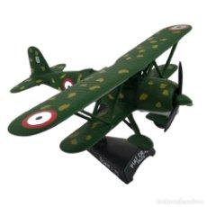 Modelos a escala: FIAT CR-42 FALCO 1:75 AVION DE COMBATE DEL PRADO DIECAST #049. Lote 236321930