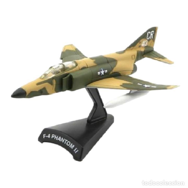 F-4 PHANTOM II 1:145 AVION DE COMBATE DEL PRADO DIECAST #012 (Juguetes - Modelos a escala)