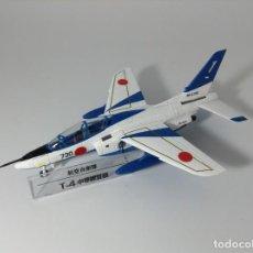 Modelos a escala: JAPAN SELF- DEFENSE FORCES Nº 04: KAWASAKI T-4 BLUE IMPULSE- 1/100 *** DEAGOSTINI ***. Lote 240810010