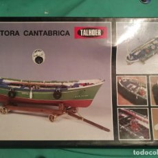 Modèles réduits: BARCO - MOTORA CANTÁBRICA PARA MONTAR. Lote 240885265