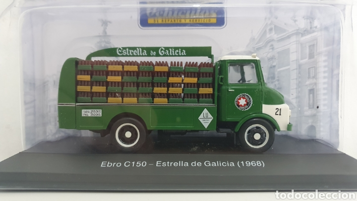 CAMIÓN EBRO C150 DE 1968. (Juguetes - Modelos a escala)