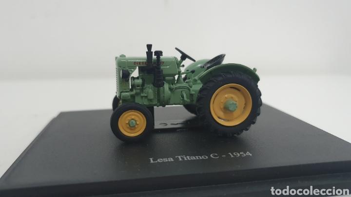 TRACTOR LESA TITANO C DE 1954. (Juguetes - Modelos a escala)