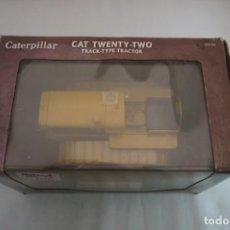 Modelos a escala: IMPRESIONANTE CATERPILLAR CAT TWENTY-TWO TRACK-TYPE TRACTOR - ESCALA 1:16 NUNCA SALIO DE LA CAJA. Lote 241389265