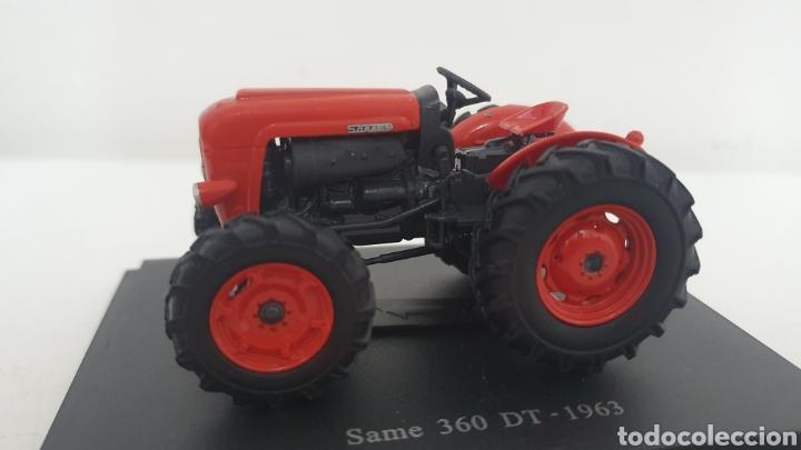 TRACTOR SAME 360 DT DE 1963. (Juguetes - Modelos a escala)