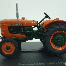Modelos a escala: TRACTOR SOMECA SOM 40H DE 1961.. Lote 242028065