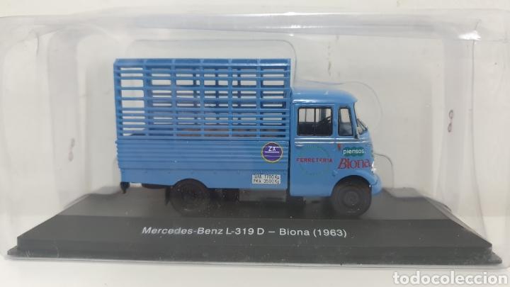 MERCEDES-BENZ L 319 D DE 1963 BIONA. (Juguetes - Modelos a escala)