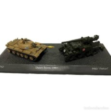 Modelli in scala: SET DOS TANQUES 1:72 WORLD OF TANKS TANQUE DIECAST #35. Lote 243969910