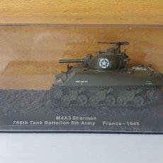 Modelos a escala: TANQUE ALTAYA M4A3 SHERMAN FRANCE 1945. Lote 244743740