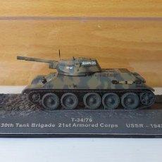Modelos a escala: TANQUE ALTAYA T-34/76 USSR 1942. Lote 244881820