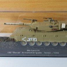Modelli in scala: TANQUE ALTAYA MERKAVA III ISRAEL 1990. Lote 244882675
