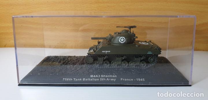 TANQUE ALTAYA M4A3 SHERMAN FRANCE 1945 (Juguetes - Modelos a escala)