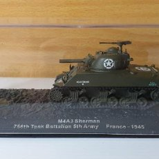 Modelli in scala: TANQUE ALTAYA M4A3 SHERMAN FRANCE 1945. Lote 244884060