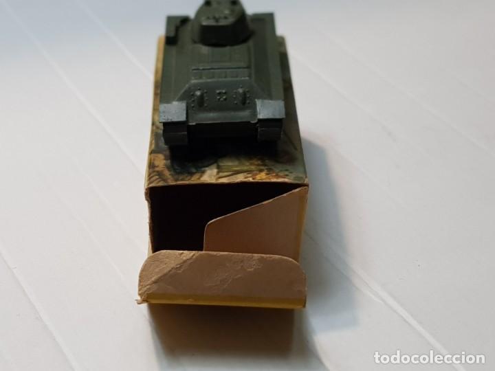 Modelos a escala: EKO VEHICULO MILITAR TANQUE T-34 RUSO escala 1:88 primera generación ref.4001 en caja original - Foto 3 - 247218685